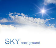 Sky background Royalty Free Stock Photos