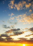 Sky background. Royalty Free Stock Photos