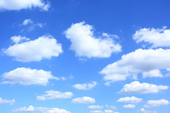 Sky background. Clouds, may be used as background Stock Photography