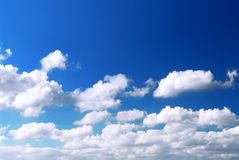 Sky background Royalty Free Stock Image