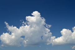 Sky background. Stock Image