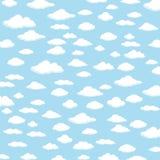 Sky Background. Cloud Background. Vector of sky background or cloud background Stock Photos