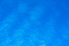Sky background with clouds. Royalty Free Stock Images