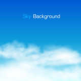 Sky background. Clouds Royalty Free Stock Photos