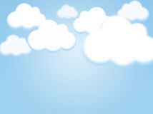 Sky background with copy space Royalty Free Stock Images