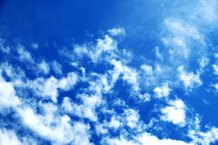 Sky background. Picture of sky background in the summer time royalty free stock photo