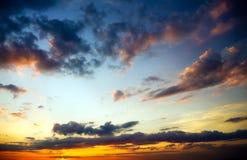 Sky background on sunrise. royalty free stock image