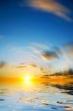 Sky background on sunrise Stock Image