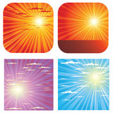Sky backgrounds Royalty Free Stock Photography