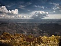 Sky, Badlands, Highland, Cloud royalty free stock image