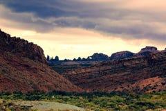 Sky, Badlands, Wilderness, Cloud royalty free stock photos