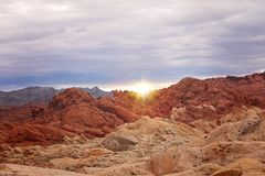 Sky, Badlands, Wilderness, Rock royalty free stock photo