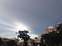 Sky at Bangkok Royalty Free Stock Images