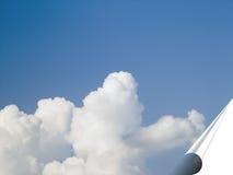 Sky banner Stock Image