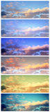 Sky banners Stock Photo