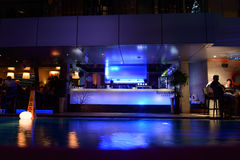 Sky bar of hotel in Kuala Lumpur Stock Photos
