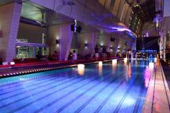 Sky bar of hotel in Kuala Lumpur Stock Photo