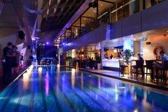 Sky bar of hotel in Kuala Lumpur Stock Photography
