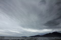 Sky at beach Royalty Free Stock Photo