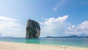 Sky beach poda island krabi thailand Stock Photography