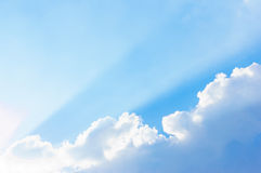 Sky beam Stock Images