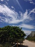 Sky. Beautiful blue sky Royalty Free Stock Photo