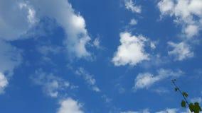 Sky. Beautiful sky blue Stock Photography