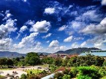 Sky. Beautiful sky in PSU Phuket Stock Photo