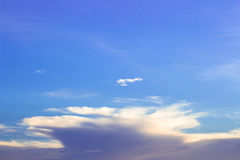Sky. The beauty of Evening sky Stock Image