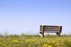 Sky Bench Stock Images