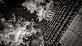Sky, Black, Skyscraper, Black And White Stock Images