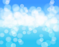 Sky blue abstract background Royalty Free Stock Images