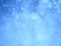 Sky Blue abstract bokeh background and texture Royalty Free Stock Image