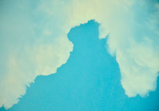 Sky blue. Background Sky blue and orange Royalty Free Stock Images