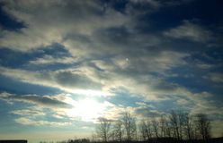 Sky blue. Canada scenery Landscape stock image