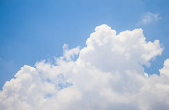 Sky. Blue and Cloud background Stock Images