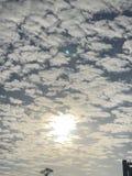 Sky blue cloud light love Stock Photo