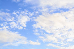 Sky. Blue sky and cloud scape Stock Photography