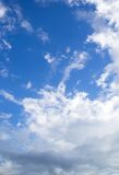 Cloud and blue Sky Royalty Free Stock Photo