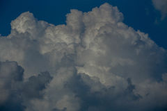 Sky blue with clouds. Sky blue with beautiful white clouds Royalty Free Stock Photos