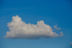 Sky blue with clouds. Sky blue with beautiful white clouds Royalty Free Stock Image