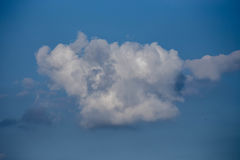 Sky blue with clouds. Sky blue with beautiful white clouds Stock Images
