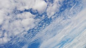 Sky. Blue sky and clouds here Royalty Free Stock Photos