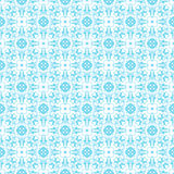 Sky Blue Colors Asian Damask Pattern. Korean traditional Pattern Stock Image
