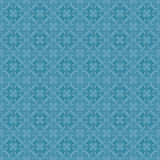 Sky Blue Colors Asian Damask Pattern. Korean traditional Pattern Royalty Free Stock Photo