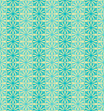 Sky Blue Colors Flower Pattern design. Original Pattern and Symb Royalty Free Stock Photo