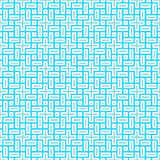 Sky Blue Colors Plaid Pattern Royalty Free Stock Photography