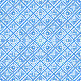 Sky Blue Colors Round grid Pattern. Korean traditional Pattern D Stock Photos