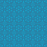 Sky Blue Colors Round grid Pattern. Korean traditional Pattern D Stock Images
