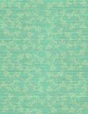 Sky Blue Faint Floral Print on Paper Background Stock Photo